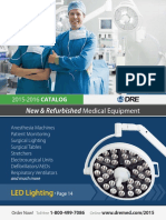 DRE Medical Equipment Catalog