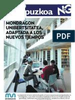 Noticias de Gipuzkoa eta Mondragon Unibertsitatea