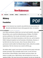 www newstatesman com history