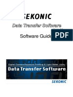 Sekonic Data transfer software Guide en d75 1015