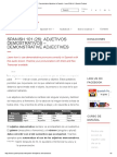 Demonstrative Adjectives In Spanish - Learn With Us! _ Spanish Podcast.pdf