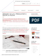 How To Ask 'What's The Date_' In Spanish _ Spanish Podcast.pdf