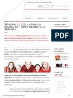 Family Members In Spanish - La Familia _ Spanish Podcast.pdf