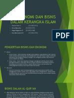 Ekonomi Dan Bisnis Dalam Kerangka Islam