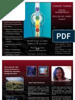 chakra toning - harmonics - PoL Sydney workshop flyer