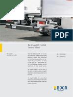 Bar Cargolift-letak Bc 1500h42, Bc 2000h42