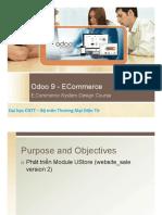 Odoo 9 Ecommerce Dev- Part II