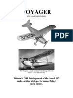 Voyager - a Free-Flight Model Airplane