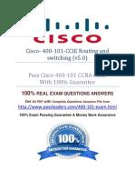 exam 400-101 Study Guide