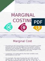 marginal costup