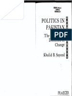 K.B. Sayeed - Politics in Pak - The Nature & Direction of Change