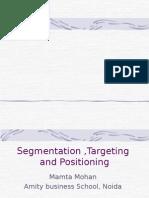 targeting & seg  positioning