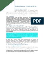 La Minería y El Medio Ambiente (Resumen)