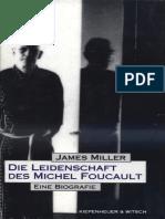 Miller James Die Leidenschaft Des Michel Foucault 1995