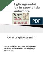 Rolul Glicogenului Muscular