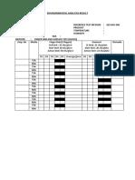 Enviromental Analysis-BETA Form