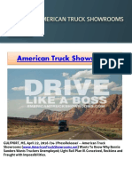 American Truck Showrooms Wants to Know Why Bernie Sanders Wants Truckers Unemployed