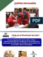 Municipios Escolares Miembros de Mesa y Comite Electoral