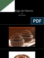 Catálogo de Febrero