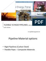 Flexible vs Rigid Pipelines