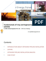 Fundamentals of S-lay and Engineering Analysis Using OFFPIPE- GEP