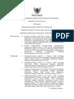 PMK No. 82 Ttg Penanggulangan Penyakit Menular