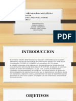 PROYECTO DEL LA EXPLORACIÓN DEL TITULO MINERO 0157-20 COOTRAMAC