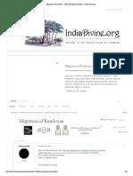 Migration of Kambojas - IndiaDivine