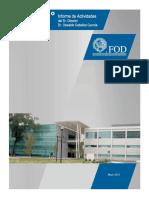 Informe Fod 2015