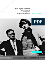 Luke Thurston-James Joyce and the Problem of Psychoanalysis (2004)