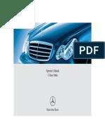 Mercedes User Manual
