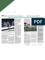 MeasurIT Flexim Wave Injector Press Release DOW 0910