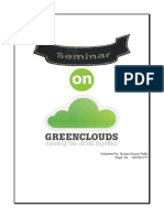 Seminar Report Green Cloud