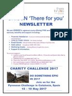 UNISON Welfare Newsletter May 2016