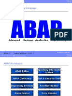 Intro to ABAP - Chapter 01_V1