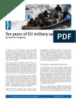 Brief 41 EU Military Operations