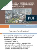 Clase 14 PSI 115 2015 - II (Segmentación de La Sociedad)