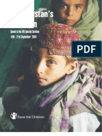 Afghanistan's Children Speak to the UN Special Session, September 2001