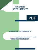 financial instruments 1