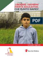 Liberare i bambini dalla povertà educativa