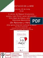2 Presentació Llibre Raquel Crisóstomo (1)