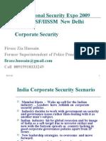 International Security Expo ITPO-CISF-IISM 2009 New Delhi Finl