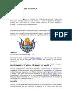 Segundo Escudo de Guatemala