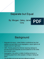 separate but equal doctrine powerpoint