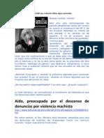 Resumen Abril2010 Denuncias Falsas, Violencia de  y Maltrato Infantil en España