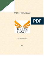 Company Profile Kreasi Langit