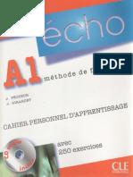 Écho A1 (CAHIER PERSONNEL D´APPRENTISSAGE) Cahiers d'exercices.pdf