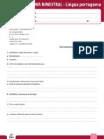Ensino Fundamental Provas Bimestrais 2013 9o Ano Prova Bimestral 4 Caderno 4 Lingua Portuguesa