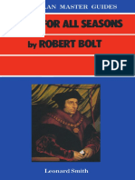 (Macmillan Master Guides) Leonard Smith (Auth.)-A Man for All Seasons by Robert Bolt-Macmillan Education UK (1985)