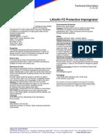 FZ Protective-Impregnator Tech Info